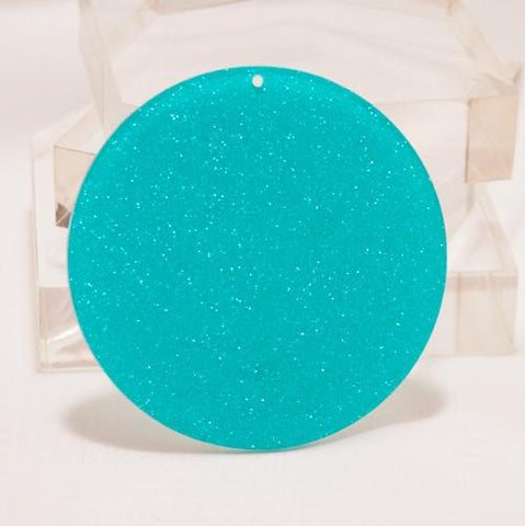 "Set of 10 ~  5/8"" Acrylic Round Disks - CraftChameleon  - 1"