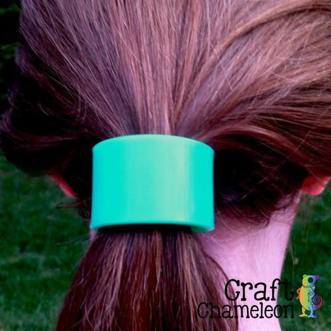Set of 3 ~ Acrylic Pony Hair Cuff - CraftChameleon  - 1