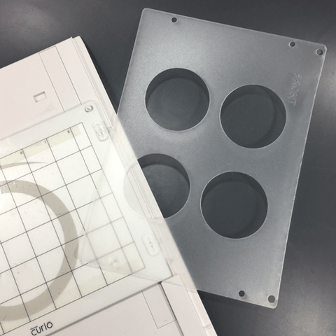 "2.5"" Round Disk Template for Etching"