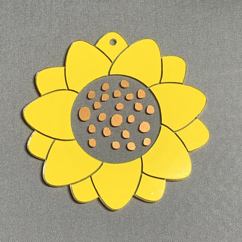 Sunflower Acrylic Blank Shape ~ Multiple Sizes
