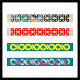 "DIY 5/8"" Acrylic Cuff Bracelets in 4 Sizes ~ Set of 5 - CraftChameleon"