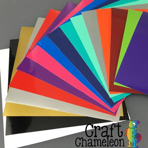 Oracal 651 12 x12 Sheets Permanent Adhesive Vinyl - CraftChameleon