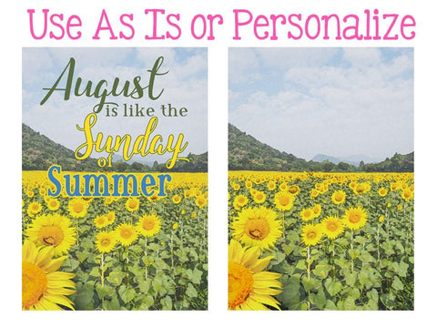 Sunflowers Sublimation Digital Design