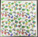 8 x 10 Craft Chameleon Custom Printed Leatherette