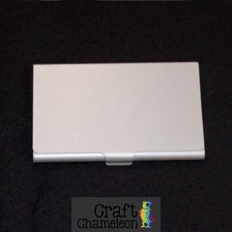 Aluminum Business Card Case - CraftChameleon  - 1