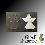 Set of 10 ~ Angel Charm Shaped Acrylic - CraftChameleon  - 1