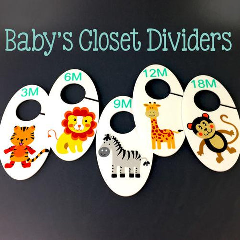 Acrylic Oval Shaped Closet Divider - CraftChameleon