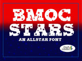 BMOC Font - A Big Man on Campus Font ~ Multiple Styles