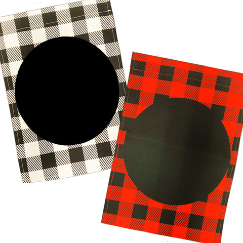 "Buffalo Plaid Polyester Garden Blank Flag 12"" x 16"""