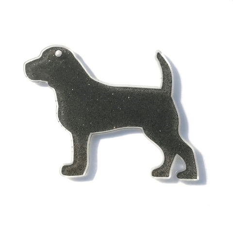 Beagle Dog Acrylic Shape - CraftChameleon