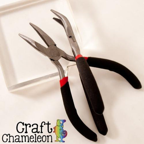 Bent Nose Pliers - CraftChameleon