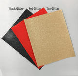 8 x 10 Leatherette Vinyl Faux Leather Sheets