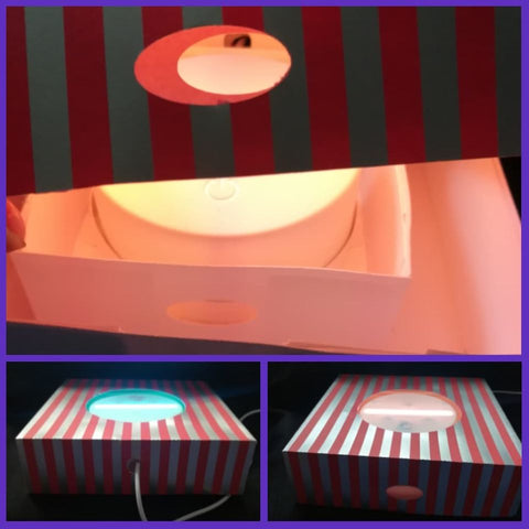 Box Template to fit Light Base by ONE Designs DESIGN ONLY