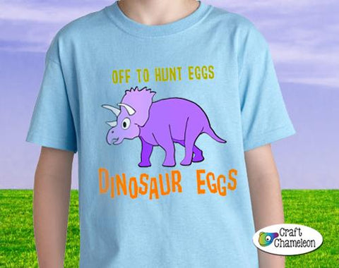 Hunting for Dino Eggs Digital Design