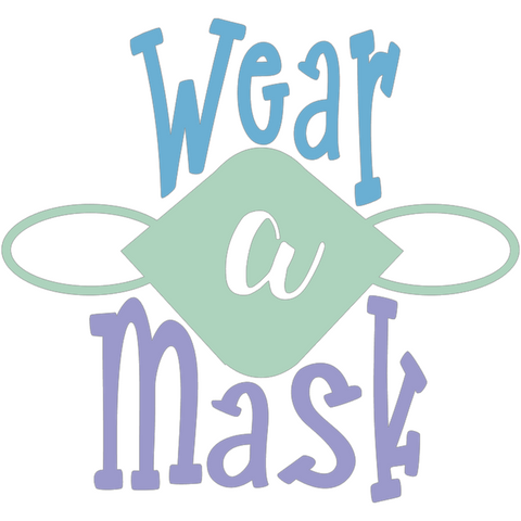Wear a Mask Digital Design