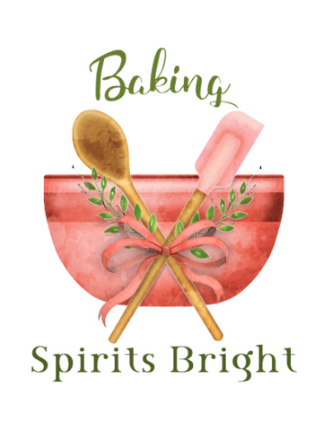 Baking Spirits Bright Sublimation Digital Design