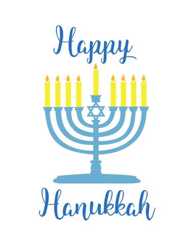 Happy Hanukkah Wordart Design Only