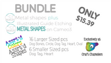 CSD Blank Metal Etching Bundle for Silhouette Cameo 3
