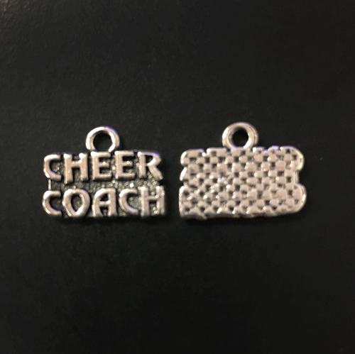 Cheer Coach charms - CraftChameleon