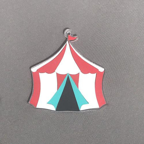 Circus Tent Acrylic Shape ~ Multiple Sizes - CraftChameleon