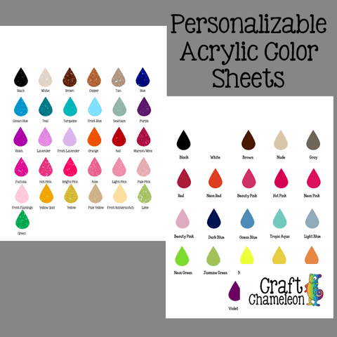 Color Charts - CraftChameleon