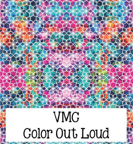 Custom Printed Oracal Patterns 12 x 12 Sheets Permanent Adhesive Vinyl by VMC
