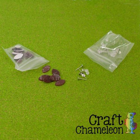 DIY Football Acrylic Earrings - CraftChameleon  - 1