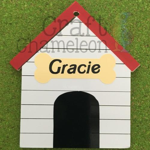 Acrylic Shaped Dog House - CraftChameleon  - 1