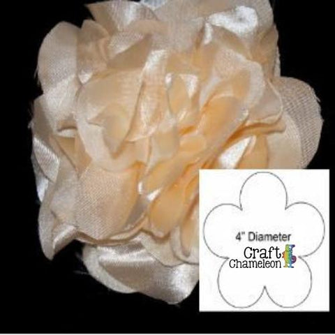 Steel Rule Flower Die 4 Inches - CraftChameleon