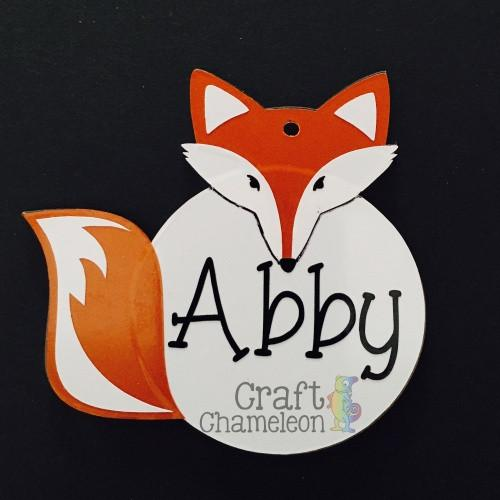 Acrylic Shaped Fox - CraftChameleon  - 1