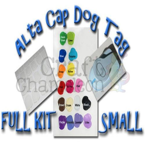 Alta Cap Dog Tag FULL Kit SMALL Size - CraftChameleon