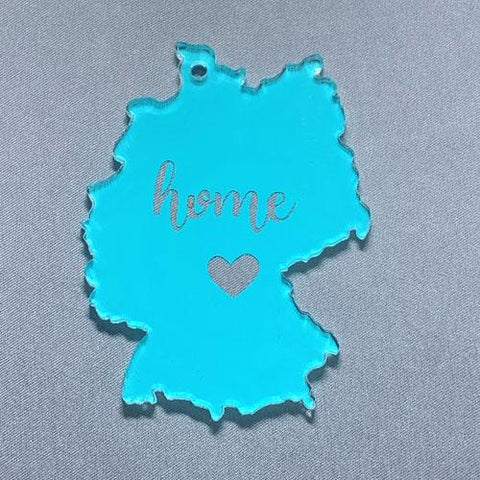 Germany Acrylic Blank Shape