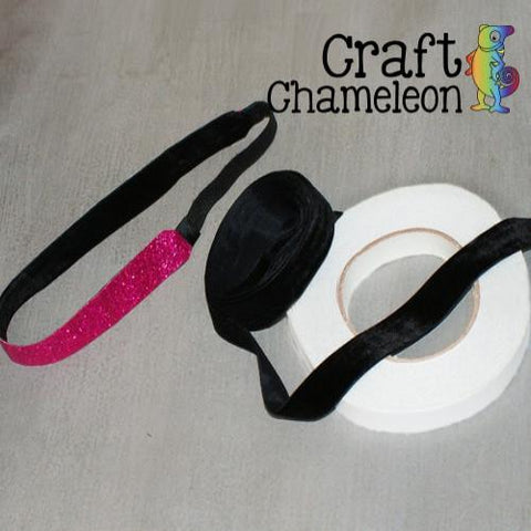 Black Velvet Ribbon - CraftChameleon