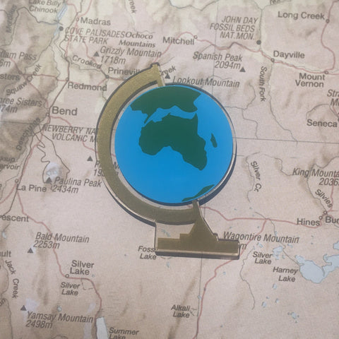 Globe Shaped Acrylic - CraftChameleon  - 1