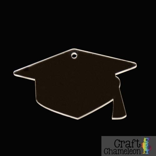 Set of 5 ~ Graduation Cap Acrylic Shapes - CraftChameleon  - 1