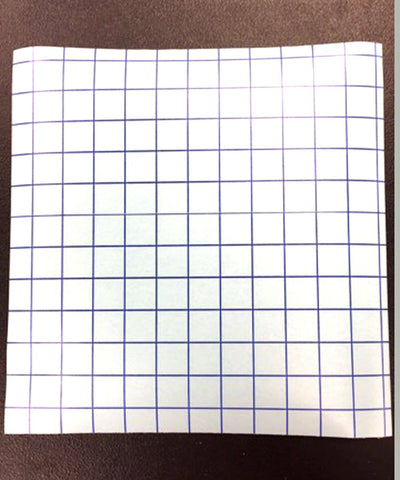12 x12 Sheets Grid Trasfer Tape