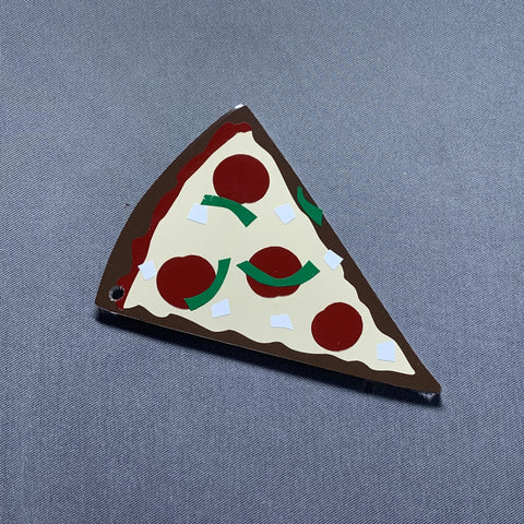Pizza Slice Acrylic Blank Shape