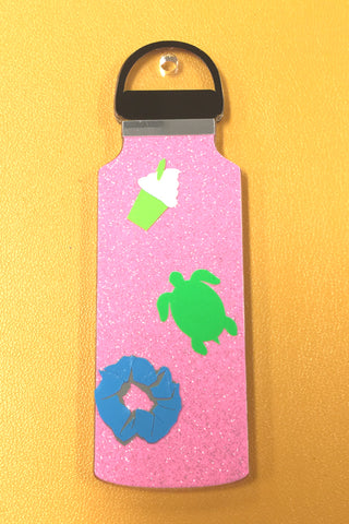 Travel Water Bottle Acrylic Blank Shape