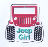 Jeep Front Acrylic Shape ~ Multiple Sizes - CraftChameleon