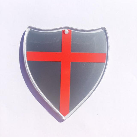 Knight Shield Acrylic Shape - CraftChameleon  - 1