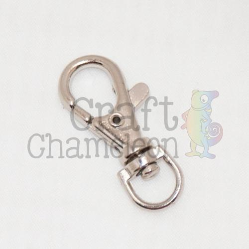 Set of 25 ~ Swivel Lobster Clasp - CraftChameleon