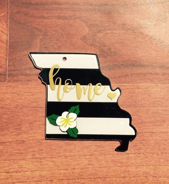 Missouri Acrylic State Shape ~ Multiple Sizes - CraftChameleon  - 1