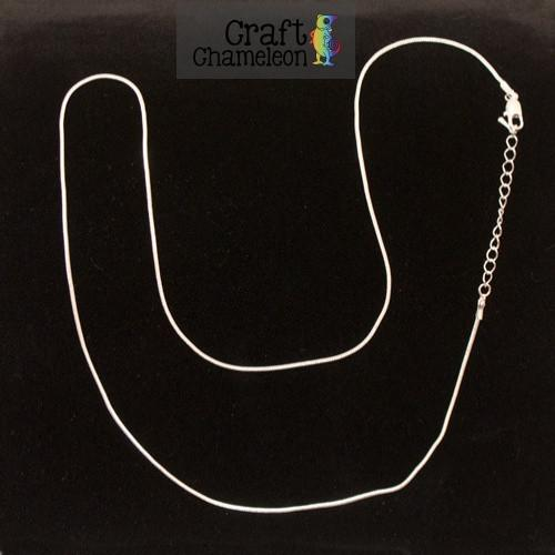 "Sets of 5 - Snake Chain Necklaces 24"", 32"", 36"" Silver Plate & Gold Tone - CraftChameleon"