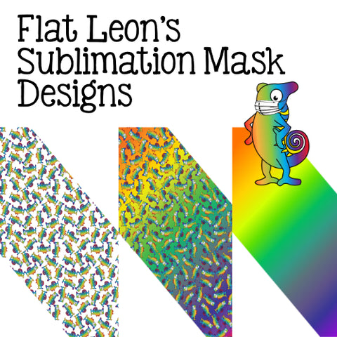 Leon Mask Sublimation Digital Design