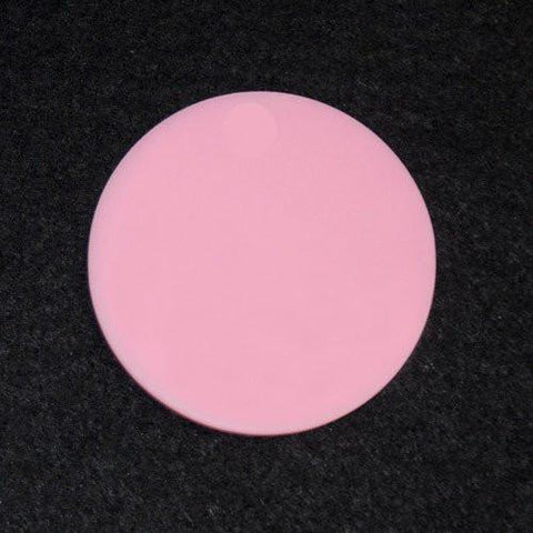 "Set of 10 ~  5/8"" Acrylic Round Disks NO HOLE - CraftChameleon  - 1"