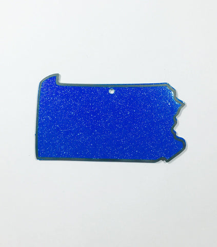 Pennsylvania Acrylic State Shape ~ Multiple Sizes - CraftChameleon  - 1