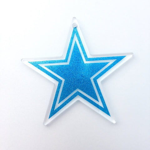 Pointed Star Acrylic Shape - CraftChameleon