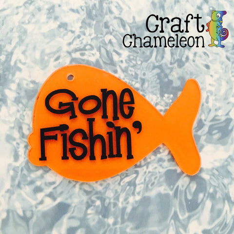 Acrylic Bubbly Fish - CraftChameleon  - 1