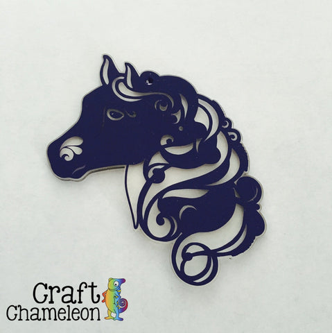 Acrylic Shaped Horse Head - CraftChameleon  - 1