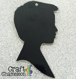 Acrylic Boy Silhouette - CraftChameleon  - 1